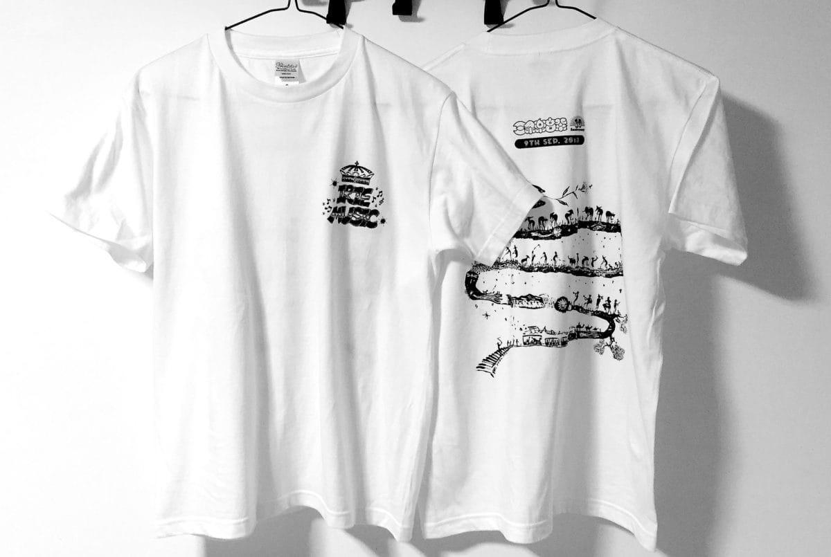 三条楽音祭10周年記念Tシャツ販売!